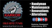 Karkor Handyman & Construction.
