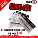 Quality Business cards affordable prices delivery anywhere in SA