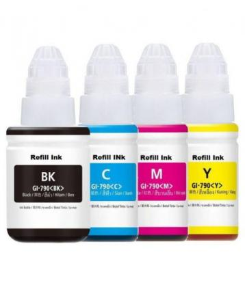 Canon GI-490/1/2/3 All Colours Value Pack Generic Ink in Bedfordview, Gauteng