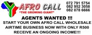 AGENTS WANTED - AFRO CALL
