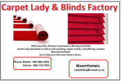 Carpet Lady & Blinds Factory