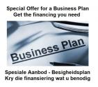 Special Offer on Business Plans for financing