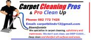 Carpet Cleaning Pros. 082 772 7425