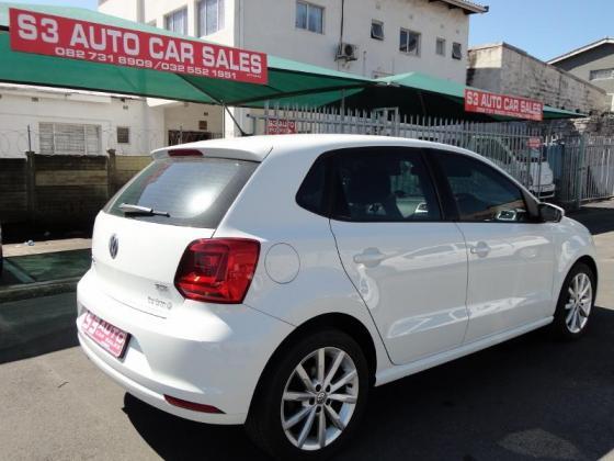 2017 VW POLO 1.2 TSI DSG HIGHLINE AUTO