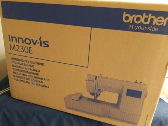 Brother Innov-is M230E Embroidery Machine in Cape Town, Western Cape