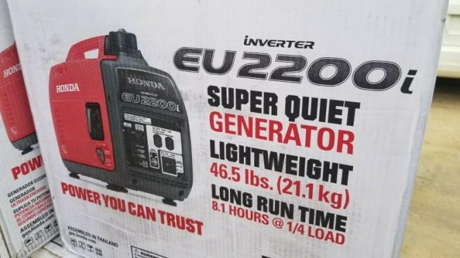 Honda Eu2200i Portable Inverter Generator in Cape Town, Western Cape