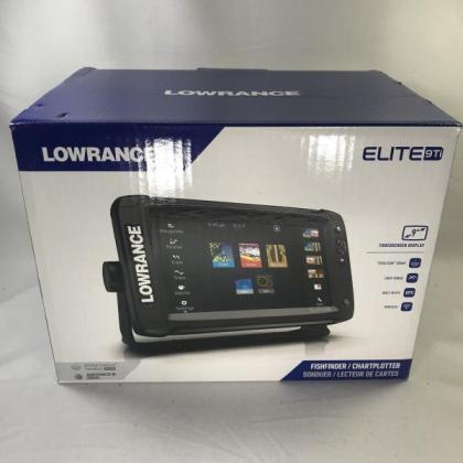 Lowrance Elite-9 Ti with TotalScan Transducer in Cape Town, Western Cape