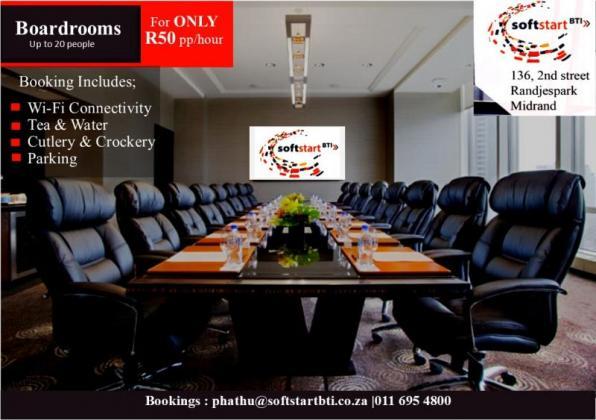 Meeting rooms & Boardrooms in Midrand, Gauteng