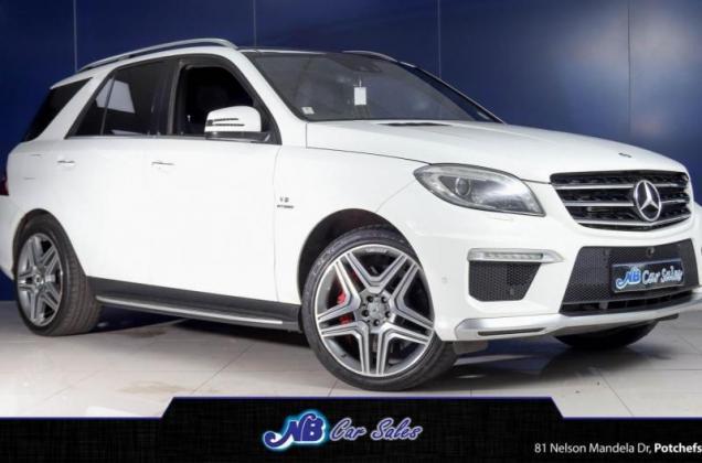 2015 Mercedes-Benz ML ML63 AMG Premium Edition For Sale in Potchefstroom, North West
