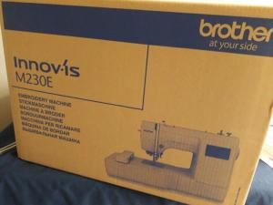Brother Innov-is M230E Embroidery Machine