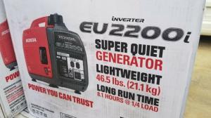 Honda Eu2200i Portable Inverter Generator