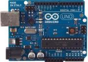 Arduino environment and electronics