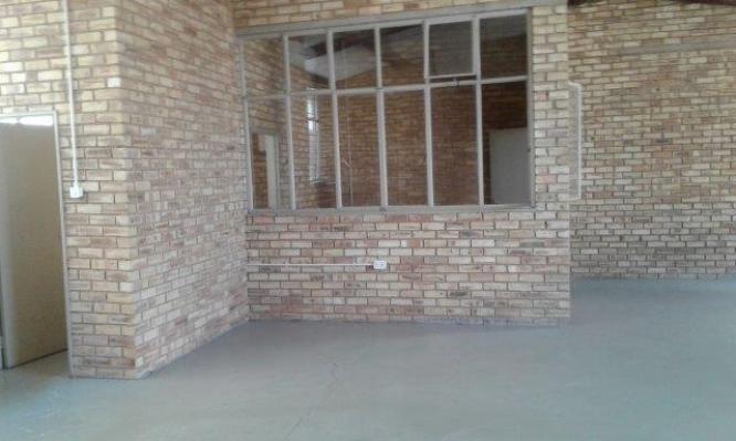 A 150 square meter factory in Krugersdorp, Gauteng