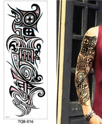 Fake Tattoos for Sale in South Africa | 42cm X 17cm | Lasts for a week