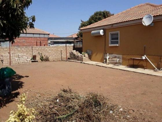 Home sweet home in Block W in Soshanguve, Gauteng