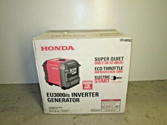 Honda inverter EU3000iS Generator in Cape Town, Western Cape