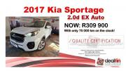 2017 KIA Sportage 2.0d EX Auto