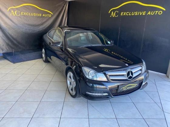 2013 Mercedes-Benz C-Class C250 Coupe For Sale in Cape Town, Western Cape