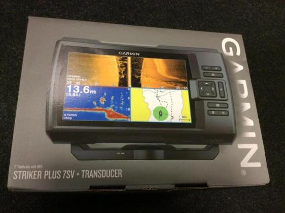Garmin STRIKER Plus 7sv Fishfinder with Transducer in Cape Town, Western Cape