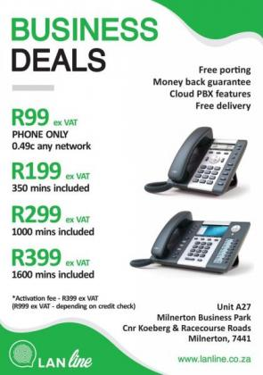 Landline VoIP Telephone for Home and Business in Johannesburg, Gauteng
