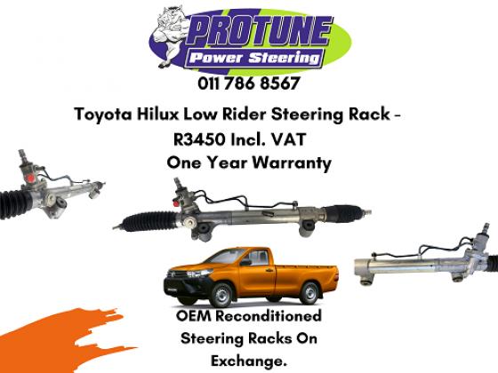 Toyota Hilux Low Rider - OEM Reconditioned Steering Racks in Kew, Gauteng