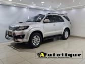 2012 Toyota Fortuner 3.0D-4D 4x4 For Sale