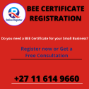 GET A BEE CERTIFICATE FOR YOUR BUSINESS