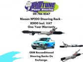 Nissan NP200 - OEM Reconditioned Steering Racks