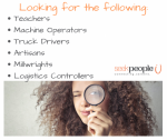 Seek People - Register Now, Vacancies Available