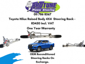 Toyota Hilux Raised Body 4X4 - OEM Reconditioned Steering Racks