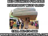 Machinery to produce beds up for grabs