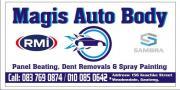 Auto Body Repairs, Panel Beating, Dent Removals, Spray Painting, Car Wash & Polish