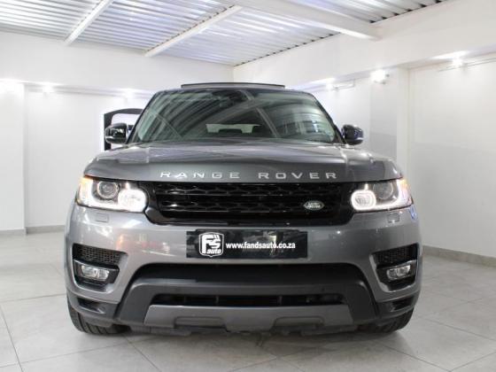 2016 Land Rover Range Rover Sport HSE Dynamic SDV8 For Sale in Belgravia, Western Cape