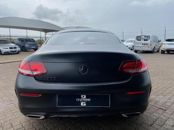 2016 Mercedes-Benz C-Class C300 Coupe AMG Line For Sale in Midrand, Gauteng