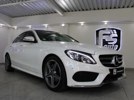 2018 Mercedes-Benz C-Class C180 AMG Line Auto For Sale in Belgravia, Western Cape