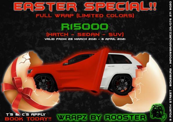 Vehicle Wraps and Customization in Boksburg, Gauteng