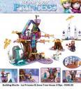 Building Blocks - Ice Princess & Snow Tree House 378pc