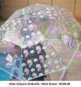 Clear Unicorn Umbrella