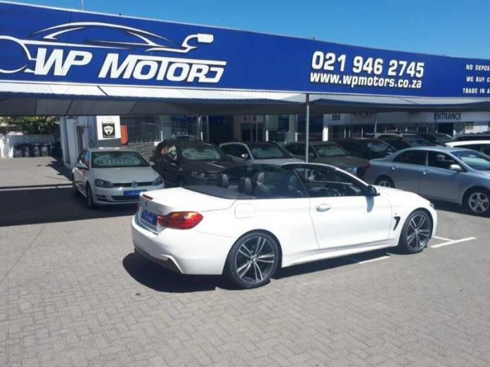 2015 BMW 4 Series 428i Convertible M Sport Auto For Sale