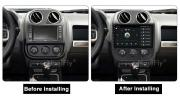 Android Car Radio Player For Jeep Compass 2009-2015 1280 QL