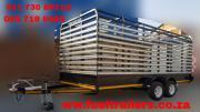 Cattle & Livestock Trailer Custom Made