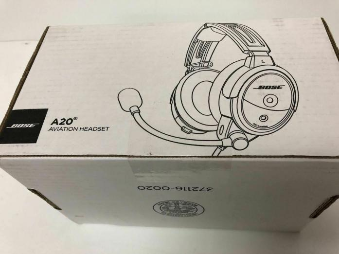 Bose A20 Aviation Headset Twin Plug With Bluetooth in Cape Town, Western Cape