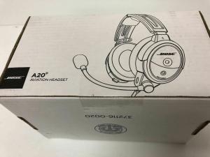 Bose A20 Aviation Headset Twin Plug With Bluetooth