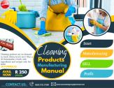 Business opportunity: Start a cleaning products manufacturing business