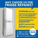 Fridge and Freezer Repairs