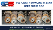 VW / AUDI / BMW AND M/BENZ USED BRAKE DISC FOR SALE