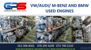 VW / AUDI / M-BENZ AND BMW USED ENGINES FOR SALE