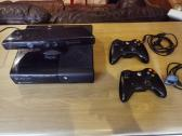 Xbox 360, 2 controllers, kinect, 9 games for sale