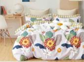 6 Piece Cotton Duvet Cover Sets - Double, Queen and King