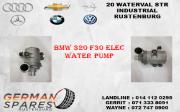 BMW 320 F30 ELEC WATER PUMP FOR SALE